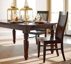 Extending Wood Dining Table Sumner Extending Dining Table Pottery Barn