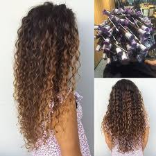 pictures of spiral perms on long hair spiral perm on this long hula hair dadahawaii hair