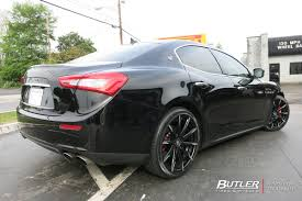 maserati ghibli aspec maserati ghibli with 20in lexani css15 wheels exclusively from