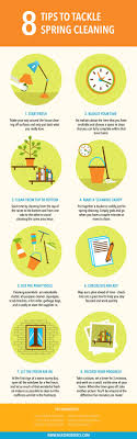 Spring Cleaning Tips | 8 tips to tackle spring cleaning infographic arslanian brothers