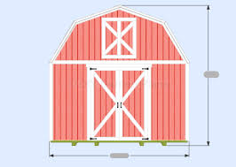 loft barn plans gambrel shed plans overview