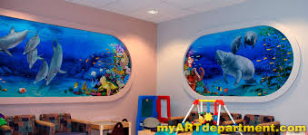 Kids Playroom by Children U0027s Hospital Playroom Murals Summerlin Las Vegas