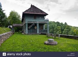 naulakha rudyard kipling house brattleboro vermont stock photo