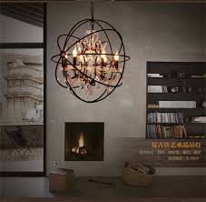 free shipping dia 40 50 60 80cm sale loft new iron orb vintage