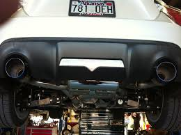 subaru dual exhaust mxp stainless steel exhaust installed music to my ears scion fr