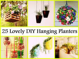 25 lovely diy hanging planters jpg