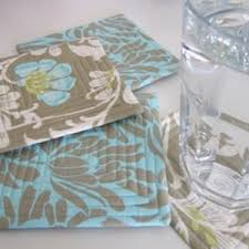 Cool Coasters Trendy Tables 14 How To Make Coasters Tutorials Allfreesewing Com