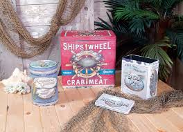 ohio wholesale 3 piece vintage seafood kitchen canister set