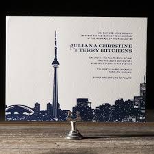 wedding invitations toronto charmed toronto figura