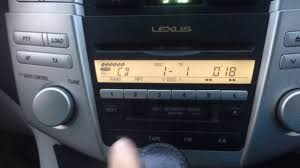 lexus rx usb port lexus rx radio cd changing cds faultless youtube
