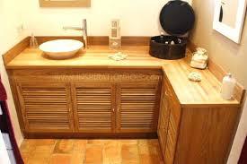 meuble cuisine teck porte meuble cuisine sur mesure meuble vasque dangle en teck a