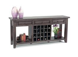 sofa table with wine rack sofa table with wine storage wine rack sofa table sofa table wine