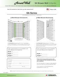 bathroom shower dimensions low threshold accessabath systems american bath enterprises