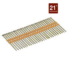 Grip Rite Collated Roofing Nails by Grip Rite 2 3 8 In X 0 113 Gauge Plastic Galvanized Steel Ring