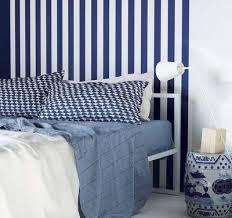 chambre marine chambre bleue et blanche déco bord de mer côté maison