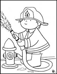 coloring sheets grow firefighter u0026 color