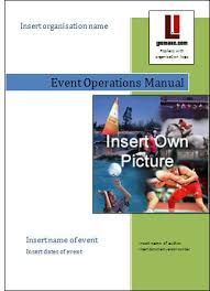 event management guide create your own event operations manual