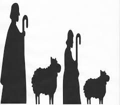 nativity silhouette free free nativity clipart silhouette free