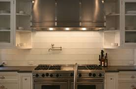 subway tile backsplashes for kitchens white kitchen with subway tile backsplash 1879