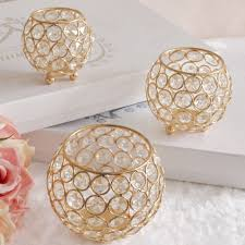 aliexpress com buy crystal tea light candle holders for wedding