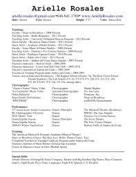 download dance resume template haadyaooverbayresort com microsoft