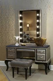 bedroom vanity sets with lighted mirror new makeup vanity table
