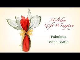 wine bottle wraps fabulous wine bottle gift wrapping for holidays