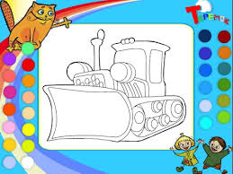bulldozer coloring pages kids bulldozer coloring pages