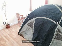 Extra Rooms In House Someone Is Renting Out A Tent In A London Living Room For 550pcm