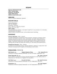 cover letter photographer resume examples assistant photographer