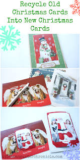 how to recycle christmas cards christmas lights card and decore
