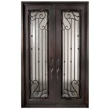 double doors interior home depot double door iron doors front doors the home depot