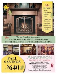 regency fall savings special anderson propane service inc