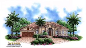 spanish style one floor house plans youtube