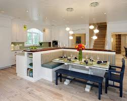 island bench kitchen kitchen island with bench seating throughout for prepare 7 beautiful
