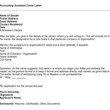cpa cover letter sample proper sample accounting cover letter u2013 letter format writing
