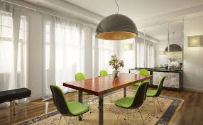 ikea electic dining table arctic pear chandelier colourful rug