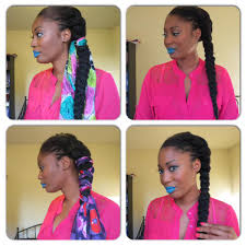 natural hairstyle tutorial u2013 natural french braid hairstyle tutorial