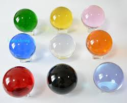 40mm acid small healing balls sphere decorative solid