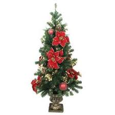 image result for small artificial christmas trees tabletop