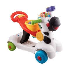 accessoire bureau rigolo vtech baby 3 en 1 zebra scooter trottino mon zèbre rigolo
