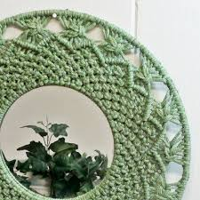 macrame mirror wall hanging designs u2022 wall design