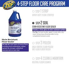 zep 128 oz stain resistant floor sealer of 4 zufslr128