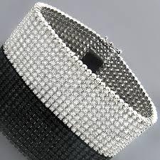 diamond bracelet cuff images 10k mens round prong diamond cuff bracelet 10 row 22 25 jpg