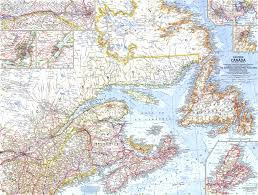 Canada Maps by Map Of Eastern Canada World Map