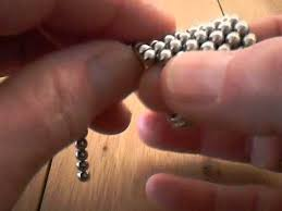 How To Make Magnetic Jewelry - how to make a pyramide with magnetic balls youtube