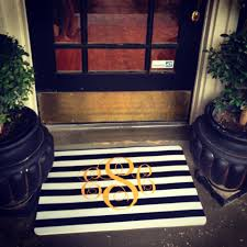 front door mats striped new decoration what s your favorite