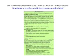 resumes formats 2014 resume format pdf for freshers latest