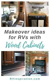 what is the best paint for rv cabinets 7 ideas for updating wood rv cabinets without painting them