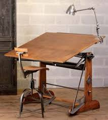 Vintage Wooden Drafting Table Hubster Found A Drafting Table Very Similar To This One For My